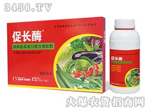 蔬菜专用酶解氨基蛋白螯合液肽肥-促长酶-盛四季
