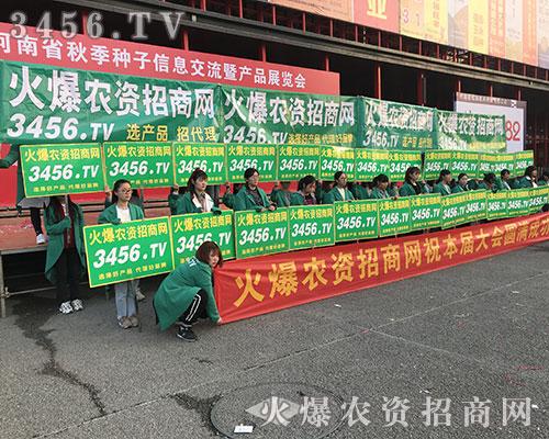 3456.TV宣传团队奋战在2018河南农药会第一线