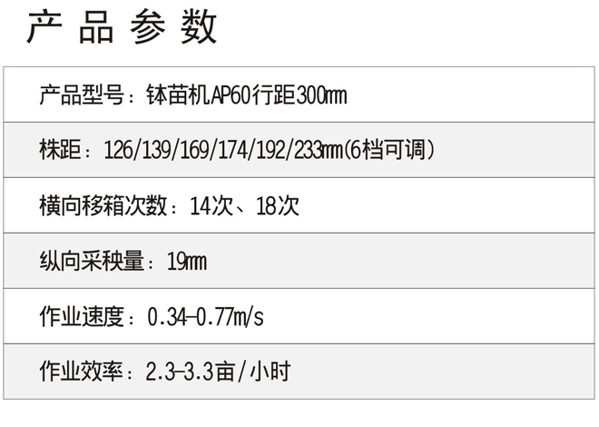 小精农机-AP60