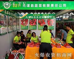 元谋县蔬菜有限责任公司2016第十三届西南农资会现场宣传