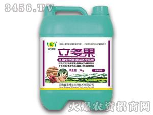 根茎专用多糖生物酶诱抗肽冲施肥-立多果
