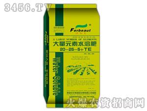 大量元素水溶肥20-25-5+TE-沃尔美