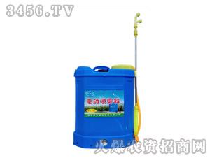 高压充电背负式电动喷雾器16L调速农用喷雾器-驰龙