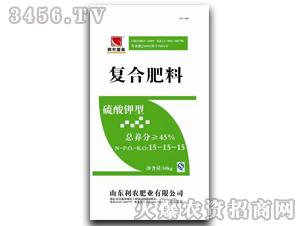 硫酸钾型复合肥15-15-15-利农