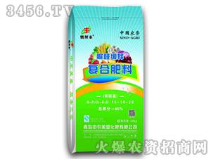 脲醛缓释复合肥料15-