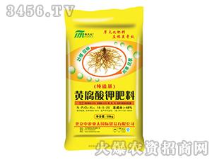 48%黄腐酸钾肥料18-5-25-摩天化