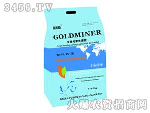 大量元素水溶肥10-10-35-TE-淘金者-绿普信
