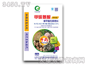 脲甲醛控释肥料17-12-12-甲硫氨酸-沃土力根