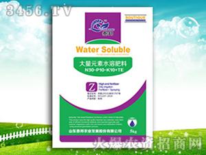 高氮绿叶型大量元素水溶肥料30-10-10+TE-泰邦