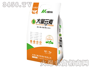 高氮型大量元素水溶肥料31-10-10+TE-艾康作物