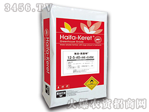 大量元素水溶肥12-5-40+ME-海法・凯雷特-中农博润