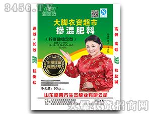 锌腐酸稳定型掺混肥料16-18-12-施四方