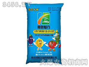 矿源黄腐酸大量元素水溶肥料17-17-17+FAK+TE-黑色魅力