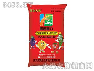 矿源黄腐酸大量元素水溶肥料15-5-20+FAK+TE-黑色魅力
