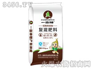 碳酶黄腐酸复混肥料12