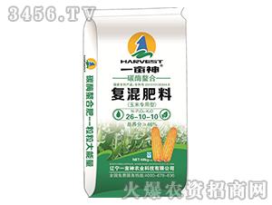 碳酶螯合复混肥料26-