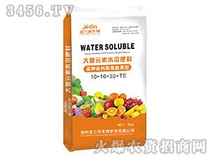 大量元素水溶肥料10-10-30+TE-高钾高钙膨果靓果型-麦克菲