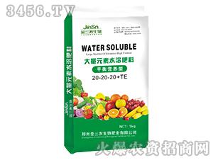 大量元素水溶肥料-20-20-20+TE-平衡营养型-麦克菲