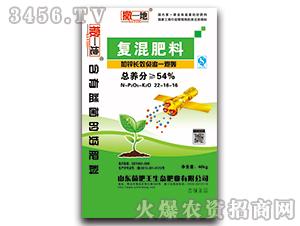 复混肥料22-16-16-撒一地-菌肥王