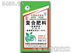 硫酸钾型复合肥12-18-15-绿源化工