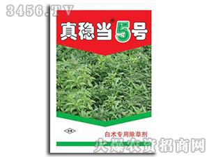 白术苗后专用除草剂-真稳当5号-金牛王