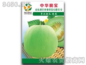 薄皮甜瓜种子-中华脆宝-旭日农业