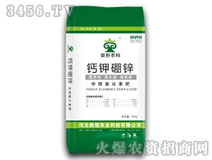 中微量元素肥-钙钾硼锌-鼎恒农科