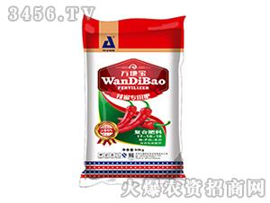 50kg辣椒专用复合肥17-10-18-万地宝-中盛肥业