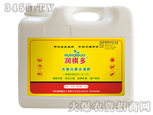 大量元素水溶肥料-润祺多-捷尔丰