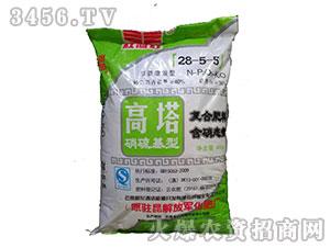 硝硫基高塔复合肥料28-5-5-红河红-云南解化