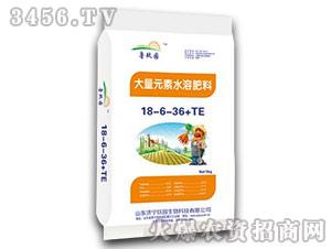 20kg大量元素水溶肥料18-6-36+TE-鲁玖园-玖园生物
