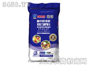40kg脲甲醛缓释复合肥料17-17-17-贵天化