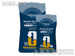 大量元素水溶肥料30-10-10+TE-雷邦特-中农梦立方