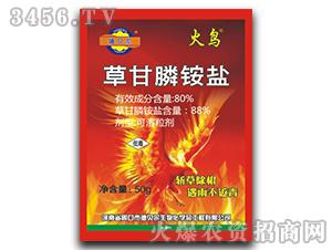 50g草甘膦铵盐可溶粒剂-火鸟