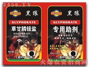 80%草甘膦铵盐可溶微粒剂-黑狼