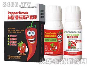 辣椒番茄高产套餐-氨基卡毒脂+芸苔磷钾精-新诗岱