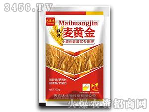小麦返青灌浆专用肥-铁杆麦黄金-天农达