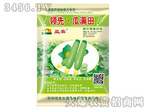 西葫芦授粉膨大专用叶面肥-领先・瓜满田-绿色丰农