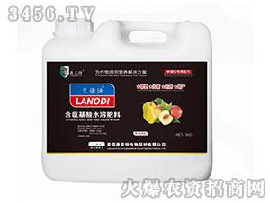 梨桃需配含氨基酸水溶肥