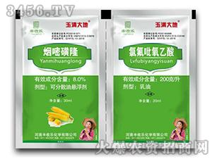 烟嘧磺隆+氯氟吡氧乙酸-玉满大地-丰收乐