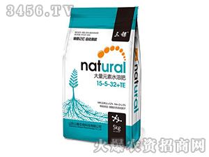 大量元素水溶肥料15-5-35+TE-三稞-公略生物