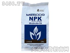 10kg大量元素水溶肥20-20-20+TE-万瑞谷德