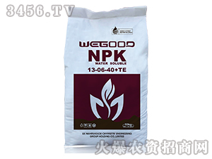 10kg大量元素水溶肥13-6-40+TE-万瑞谷德