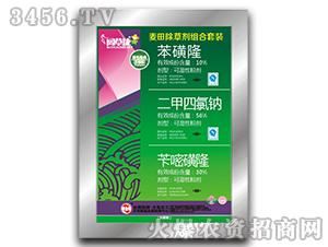 麦田除草剂套装-苯磺隆+二甲四氯钠+苄嘧磺隆-力克化工