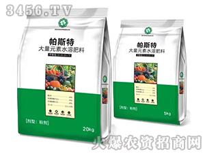 平衡型大量元素水溶肥料20-20-20+TE-帕斯特-多农多