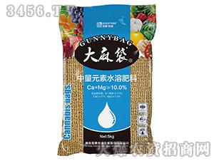 硅钙镁钾中量元素水溶肥-大麻袋-昆腾农业