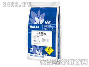 10kg高浓度水溶肥 料10-45-10+TE-haifa品牌
