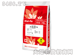 10kg高浓度水溶肥料20-20-20+TE-haifa品牌