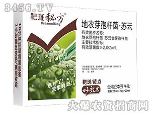 地衣芽孢杆菌・苏云-靶斑秘方-台湾豆本豆
