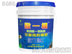 黄腐酸有机碳水溶肥-撒一桶-鑫东肥业